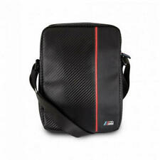 "Genuine BMW Carbon Red Stripe M Sport Travel Bag 8"" for Tablet and Gadgets"