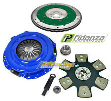 FX STAGE 4 CLUTCH KIT & FIDANZA ALUMINUM FLYWHEEL 96-04 FORD MUSTANG GT 6-BOLT