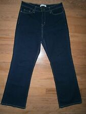 EUC Womens Levis Perfectly Slimming Boot Cut Jeans 14 S/C Stretch Mid rise Blue