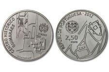 Portugal 2.50 euro Unesco World Heritage Guimaraes Historical Center 2012 UNC