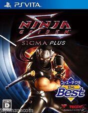 Used PS Vita NINJA GAIDEN SIGMA PLUS  SONY PLAYSTATION JAPANESE IMPORT