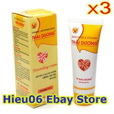 3 Tubes x 20g Turmeric & Vitamin -Herbal Fresh Nourishing Cream Thai Duong