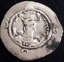 Greek (450 Bc-100 Ad) Drachm-drachme-sasanian-sasaniden-sassanides-persien-persian-persia Nr.185
