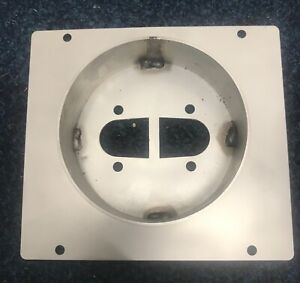 Chinese diesel heater mounting plate stainless steel 50mm turret planar.
