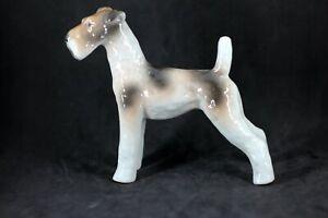 Unterweissbach Figur Foxterrier Hund Dog Porzellan Tier