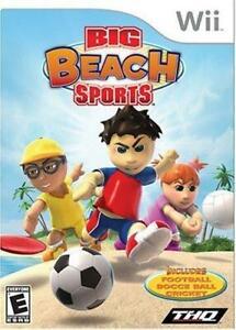 Nintendo Wii Big Beach Sports, New PAL Version