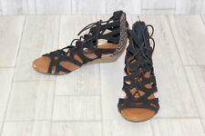 Minnetonka Merida II Sandal - Women's Size 6 Black