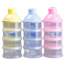 1x Portable Baby Infant Feeding Milk Powder&Food Bottle Container 4 Cells BF