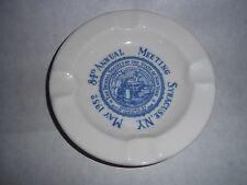 Syracuse China Vtg. Ashtray - Dental Society of the State of New York, 1952