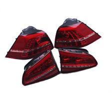 Red LED L&R Tail Light Set Fit For VW Golf MK7 13-15