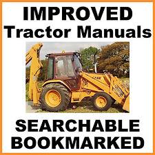 Case 580B Shuttle Tractor SERVICE SHOP & OPERATOR & PARTS MANUAL MANUALS SET CD