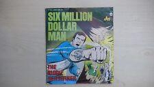 """SIX MILLION DOLLAR MAN THE BIONIC BERSERKER 7"""" 33 1/3rpm 1976"""