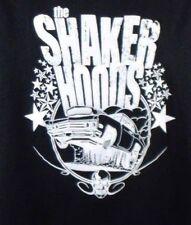 Muscle Car Mechanic Hot Rod Wheelie Mens Black T-Shirt XL The Shaker Hoods