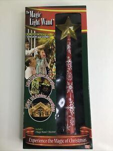 Magic Light Wand Christmas Remote Control Red New Light Christmas Lights Magic
