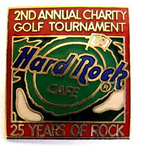 HARD ROCK CAFE HRC BROSCHE - 25 YEARS OF ROCK / CHARITY GOLF TOURNAMENT [2131B]