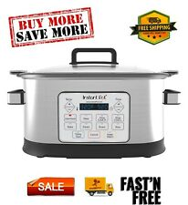 Gem 6 Qt 8-in-1 Programmable Multicooker, Easily adjust settings while cooking