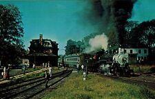 Vermont Railway, North Bennington Vt, Gay Nineties Special, Rr Depot Postcard