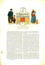 A Christmas at Cafe Spaander - by Edward Penfield - Original article - 1902
