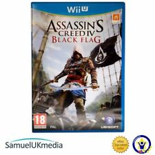 Assassin`s Creed IV: Black Flag (Nintendo Wii U) **GREAT CONDITION**