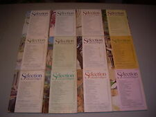 #20 Lot of all 12 months Sélection du Reader's Digest Complete Year 1979