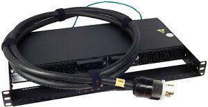 HP Eaton 1U PDU NEMA L6 30 With Cord New 647970-002