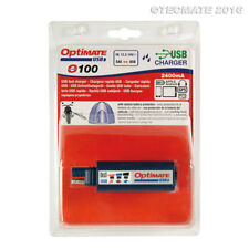 TecMate OptiMate 2400mA USB Battery Charger SAE Input w/Battery Protection O100