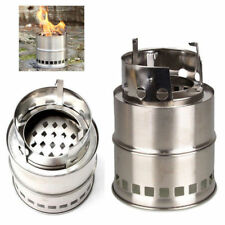 Outdoor Wood Stove Backpacking Portable Survival Wood Burning Camping Stove Hot