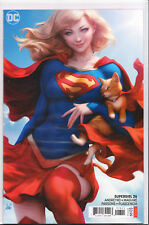 "SUPERGIRL #26 (STANLEY ""ARTGERM"" LAU VARIANT) COMIC BOOK ~ DC Comics ~ HOT"