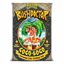 FoxFarm FX14100 Bush Doctor Coco Loco Plant Garden Potting Soil Mix, 2 Cubic Ft.