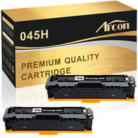 2PK Black for Canon 045H Toner Cartridge imageClass MF632Cdw MF634Cdw LBP612Cdw