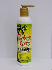 Tropical Roots Clarifying Shampoo New With Aloe Vera And Rosemary Oil 8 OZ