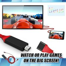 6Ft HDMI USB Type C Cable 4K Phone To HDTV TV AV Adapter For Android Samsung LG