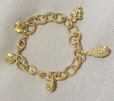 14k Gold Filled Charmed Fashion Women's Bracelet - L21cm