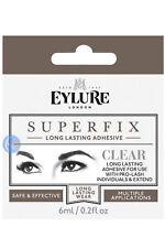 3 x EYLURE CLEAR SUPER FIX SUPERFIX INDIVIDUAL EYELASH GLUE 6ML LASH EXTEN. ADHE