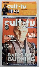Cult Times The Best Of Cult Tv 28 Page Sample Pilot Issue July 1997 Babylon 5