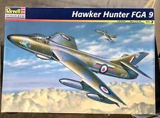 1/32 Revell Monogram Hawker Hunter FGA 9 RAF Plastic Scale Model Kit Complete