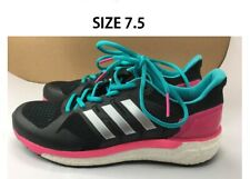ORIGINAL ADIDAS Women's Boost Continental Shoes Sneaker Laced Black Size 7.5