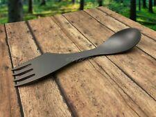 US Venditore! Titanio Campeggio Cucchiaio Forchetta Coltello 3-in-1 per / Tiny