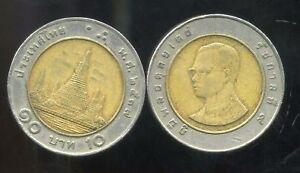 THAILAND  THAILANDE   10 baht   1994  ( etat )
