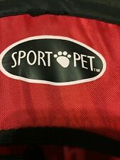 Sport Pet Designs Kennel Pro Pop Open, Small, Red, Black