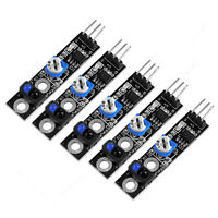 5pcs TCRT5000  IR Infrared Track follower Sensor Obstacle Avoidance Module