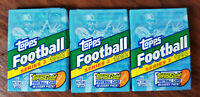 1992 Topps Football (series 2) 15 card - 3 pack lots! Factory sealed
