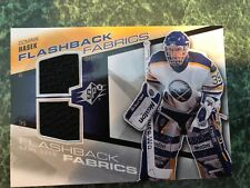2008-09 SPX Flashback Fabrics Game-Used Jersey Dominik Hasek
