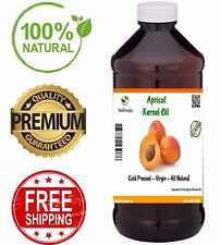 Apricot Kernel Oil Virgin Cold Pressed 100% Pure Natural Organic Skin Hair Body