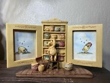 Charpente Disney Winnie The Pooh Double Photo Frame Cupboard Picture