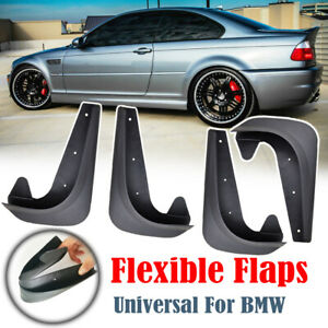 4Pcs Mud Flaps Splash Guards For BMW 3/5/7 Series F10 E30 E46 Mudguards Fender