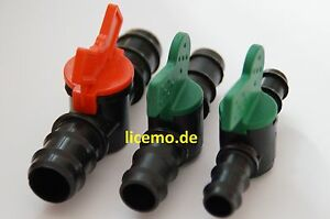 PVC-, PP- ,Absperrhahn,Ventil mit schlauchtülle, günstiger 5-er und 10-er Pack!!