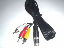 SEGA MEGA DRIVE 2 GENESIS 2 STEREO AV TV LEAD CABLE NEW