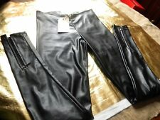 JUST LUST LEGGINGS IMITATION CUIR 38/40 MOTO SEXY ROCK