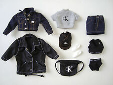 BARBIE Clothes/ Fashions Denim Outfit W/ Acc. NEW!